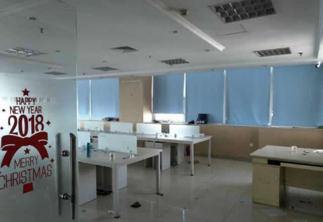 (出租) 大型公司362㎡优选西湖洪城路星河国际户型好带办公家具